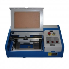Mini Desktop 3020/2030 300x200mm 40W CO2 Laser Engraving Cutting Machine